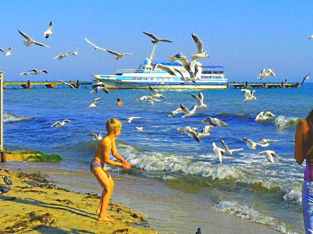 Новые фото ким кардашьян на пляже